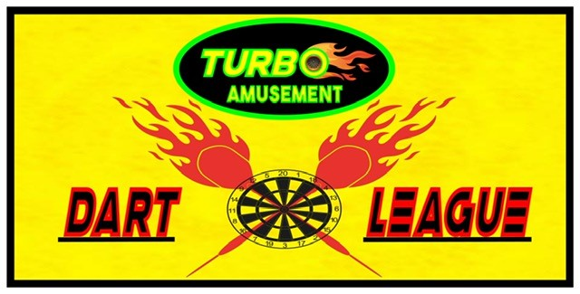 Turbo Amusement's Dart League